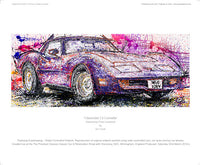 Chevrolet C3 Corvette' - POPBANGCOLOUR Shop