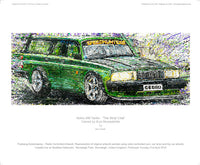 Volvo 240 Turbo - 'The Strip Club' - POPBANGCOLOUR Shop