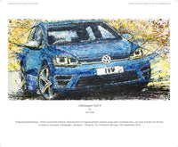 Volkswagen Golf R - POPBANGCOLOUR Shop