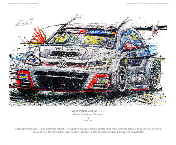 Volkswagen Golf GTi TCR - POPBANGCOLOUR Shop