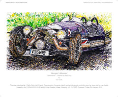 "Morgan 3-Wheeler - ""Genevieve"""