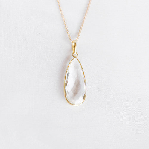 Crystal Heirloom Pendant Necklace
