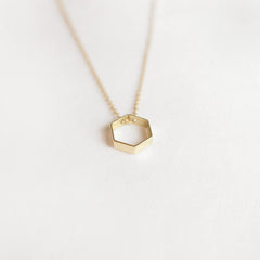Mini Hex Necklace