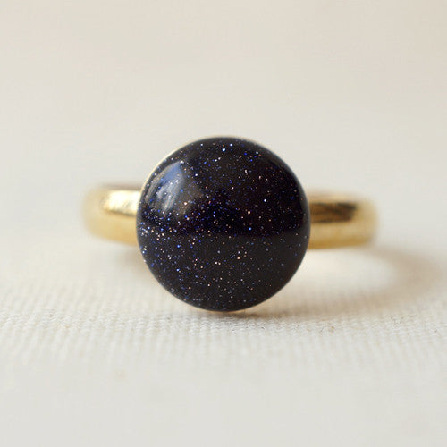 Midnight Stars Ring