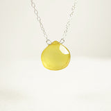 Lemon Chalcedony Necklace