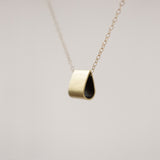 Brass Drop Necklace