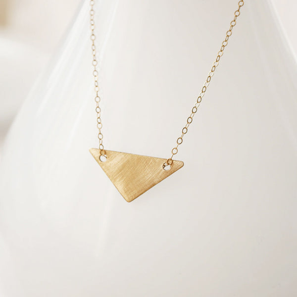 Brushed Gold Arrow