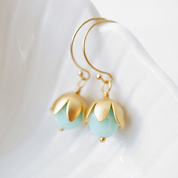 Mint Bauble Earrings