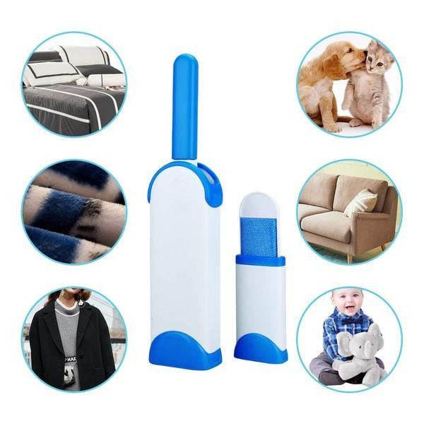 Pet Hair Remover with Self-Cleaning Base - Remove Hair from clothing