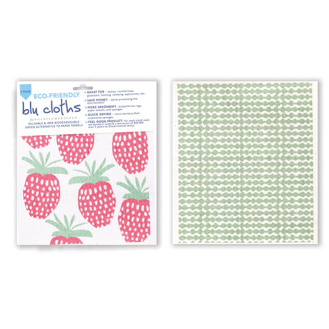 Strawberry Reusable Blu Cloths