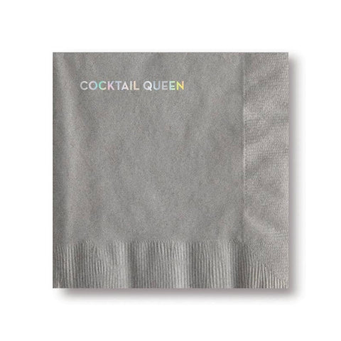 Cocktail Napkins - Cocktail Queen