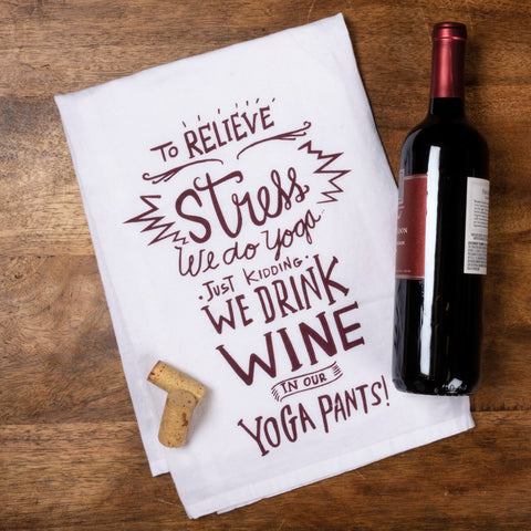 Dish Towel - We Drink Wine
