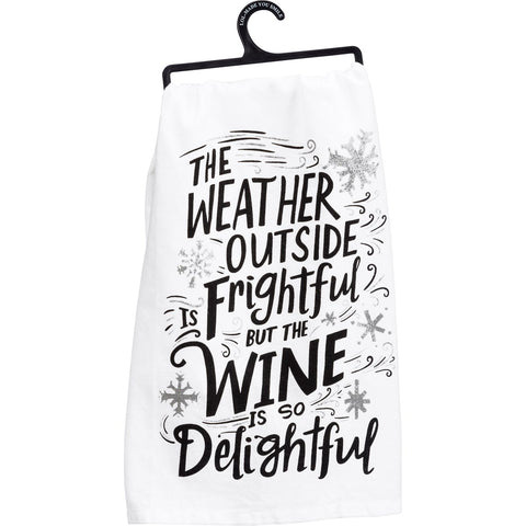 Dish Towel - Wine Delightful
