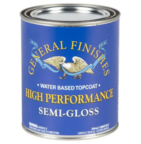 High Performance Top Coat - Semi-Gloss