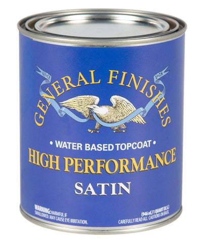 High Performance Top Coat - Satin