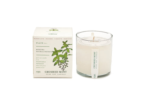 Crushed Mint Candle