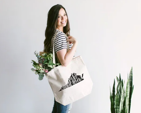 Virginia Canvas Tote