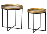 Luma side tables, set of 2