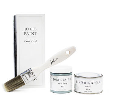 Jolie Paint Small Kit (gloss varnish)