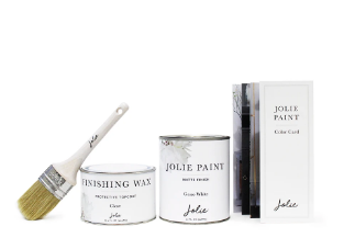Jolie Basics Project Kit (Furniture Wax Top Coat)