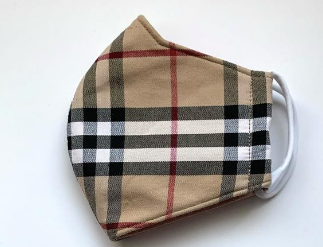 Burberry Style Mask