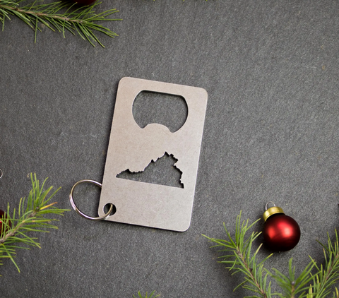 Virginia Stainless Steel Bottle Opener