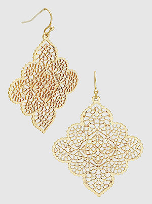 Filigree Moroccan Earrings