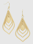 Moroccan Shape Dangle Earrings