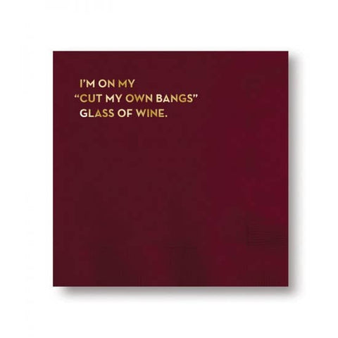 Napkins - Glass of Wine