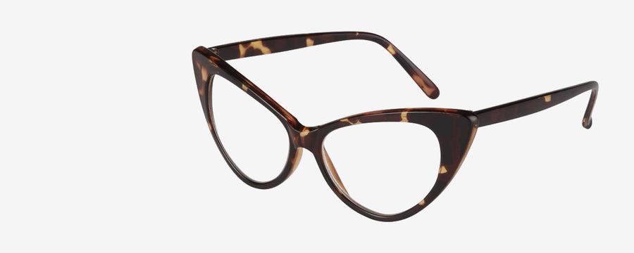 Bettie Readers: Trendy, timeless cat eyeglass frames.