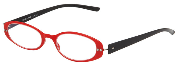 Red and Black Oval Bendz Readers