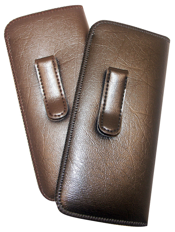 Men's Large Slip-In Eyeglass Case with Clip