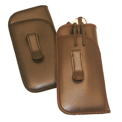 Men's Medium Slip-In Pen/Pencil Eyeglass Case with Clip