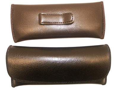 Men's Semi-Hard Eyeglass Case with Clip