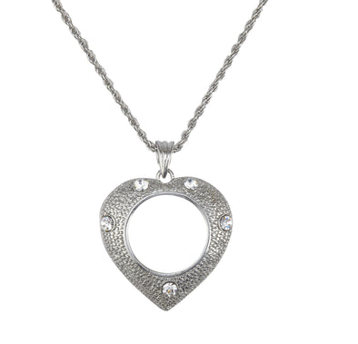 Heart Charmed Life Magnifier Necklace