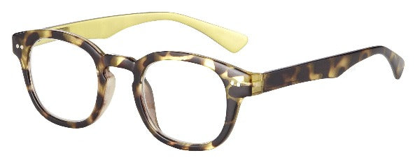 gold and tortoise reading glasses