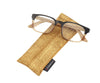 designer reading eyewear with matching case