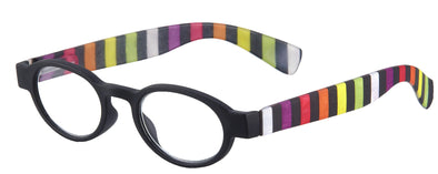 Reading Glasses with Stripes