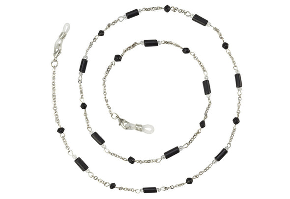 Onyx Eyeglass Chain/Necklace
