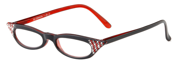 Crimson Reading Glasses