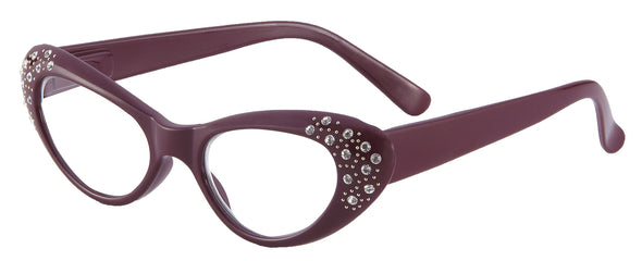 Women Designer Reading Glasses Purple