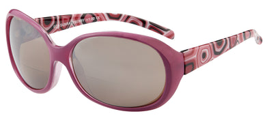 Raspberry Bifocal Sunglasses