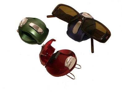 Metallic Visor Clips