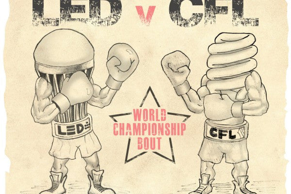 LED vs CFL – who wins?