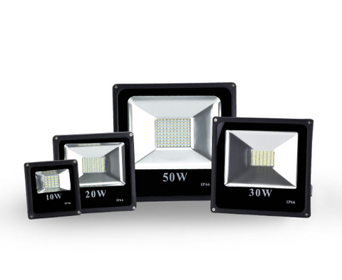 ECO Light Slimline SMD LED Flood Light - 10W to 50W - 5500K