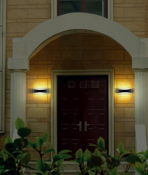 ECO-AP Series: LED Exterior Surface Mounted Wall Lights