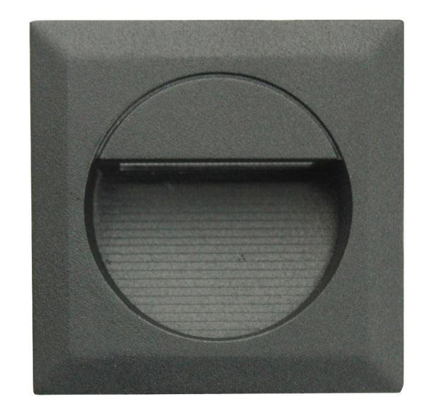 LED Recessed External Wall/Step Light (Square) IP44 - 240V