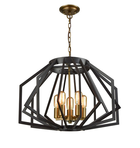 GAMBA Pendant Series - Antique Brass - Polished Nickel