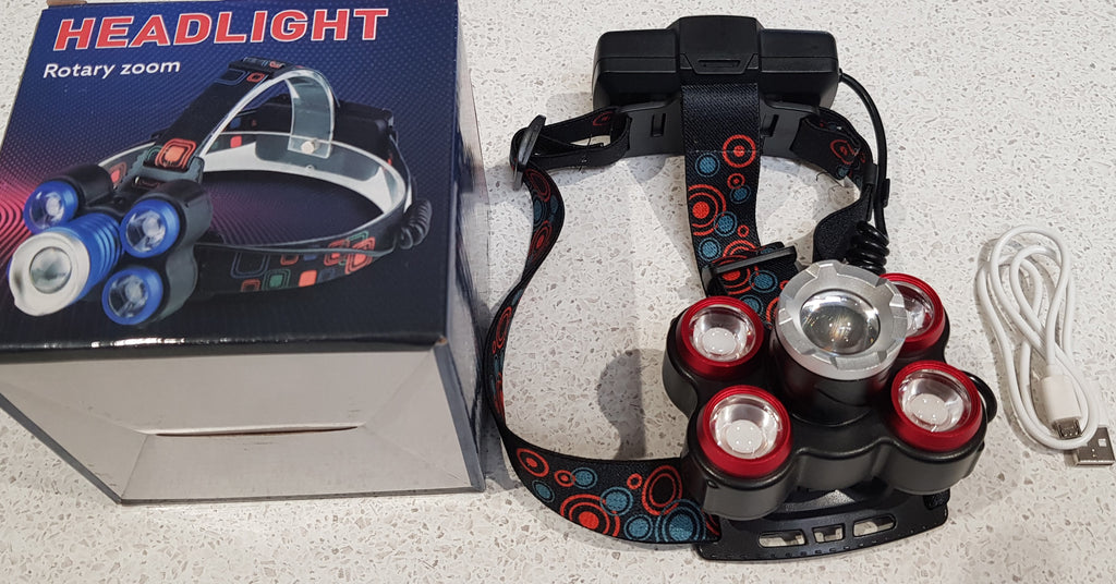 High Power LED Head Torch