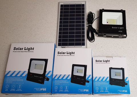 Led Solar Flood Light 30W, 50W, 100W